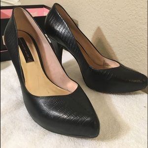 Steven by Steve Madden Dair black heels